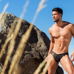 Adrian C. Martin – New MaleBasics erotic shoot