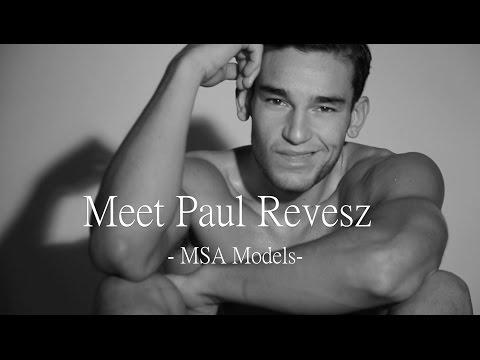 Garcon Model - Upcoming Male Models Paul Revesz