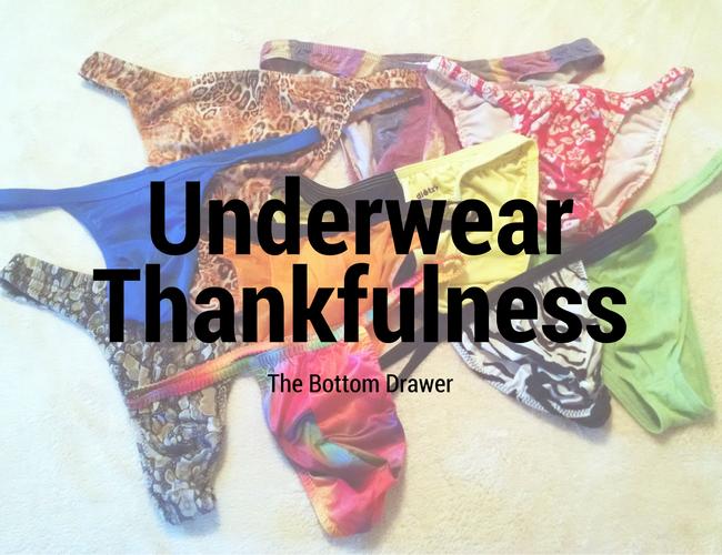 Underwear Thankfulness - The Bottom Drawer