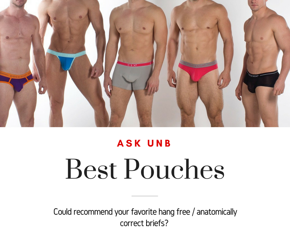 Ask UNB - What are good Natural Ergonomic Pouches?