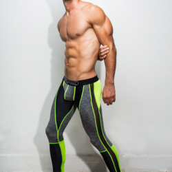 Work out With Marco Marco Shades of Grey Leggings