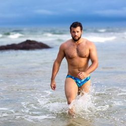 Brief Distraction featuring Sluggers Swimwear