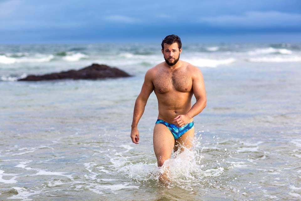 Brief Distraction featuring Sluggers Swimwear