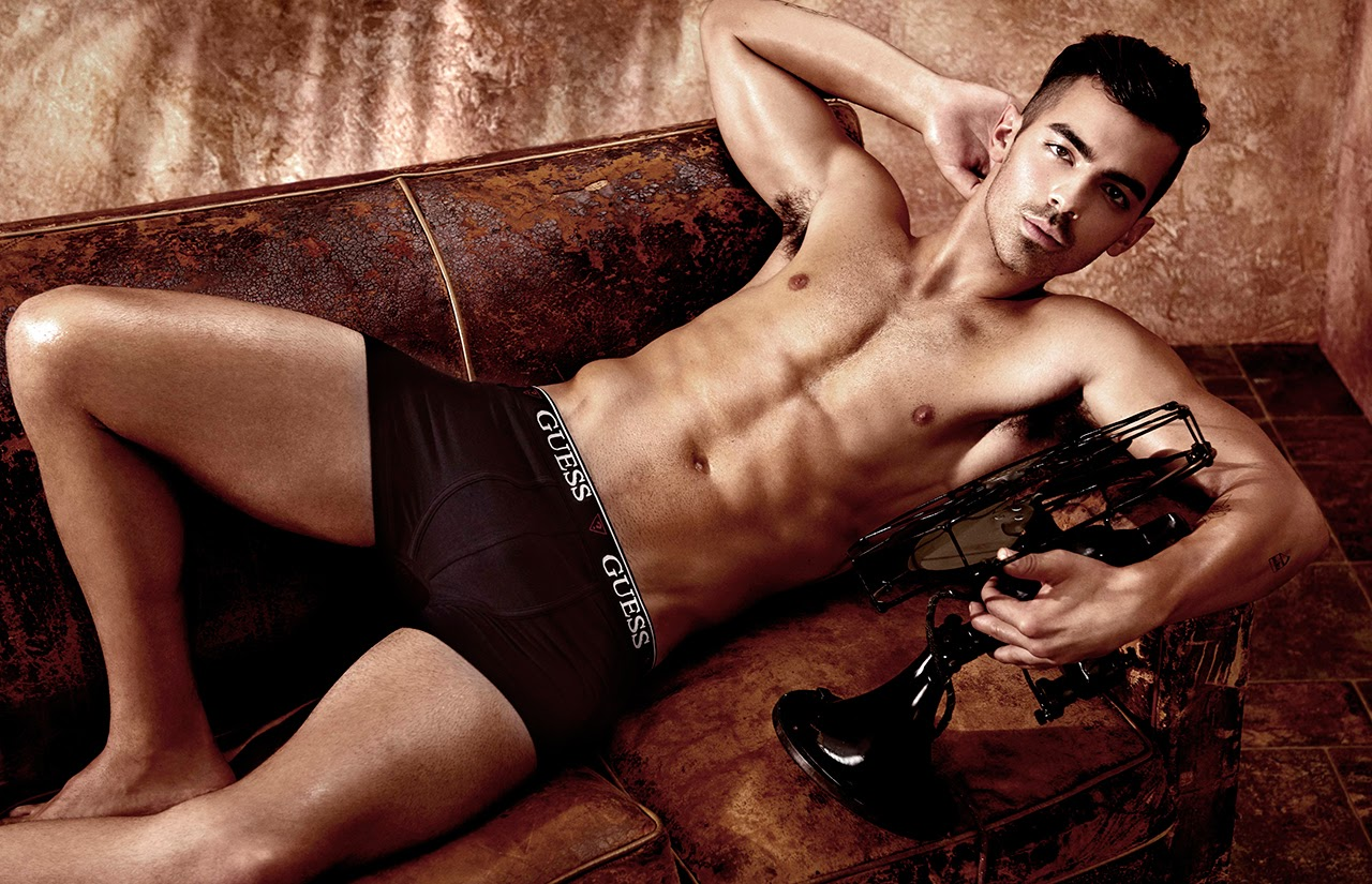 Joe Jonas - The Face of Guess Underwear