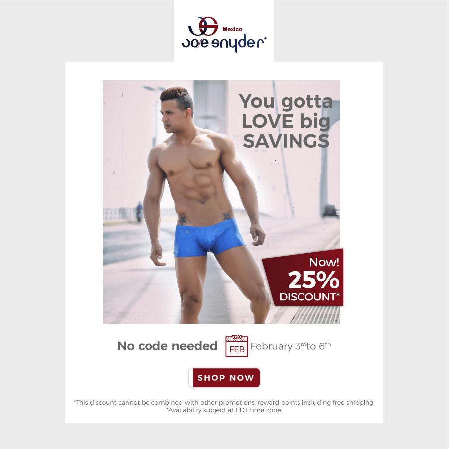 Save on Male Basics & Joe Snyder