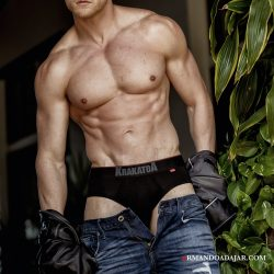 Armando Adajar Shoots Krakatoa Underwear