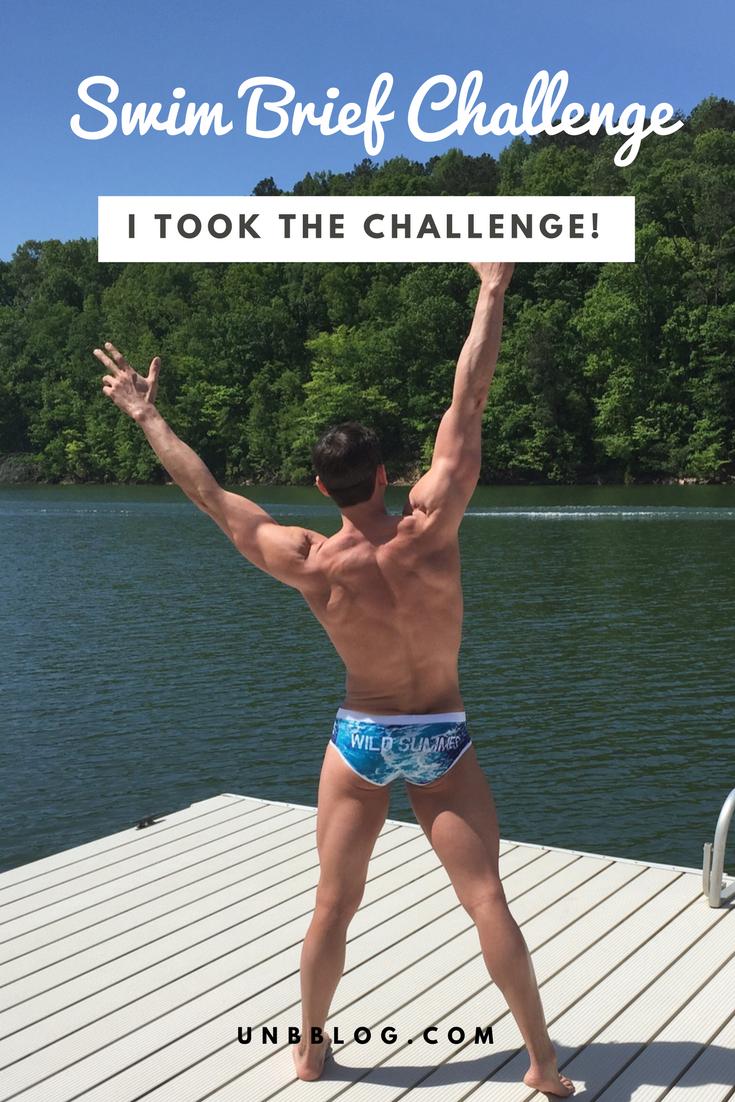 Did you take the Swim Brief Challenge?