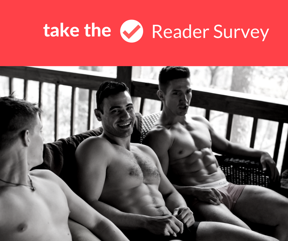 Have you shared your love of underwear? Take our Reader Survey
