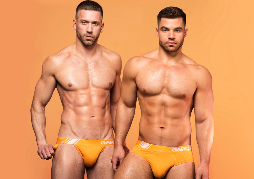 Double Your Fun with the Garcon Model Boys