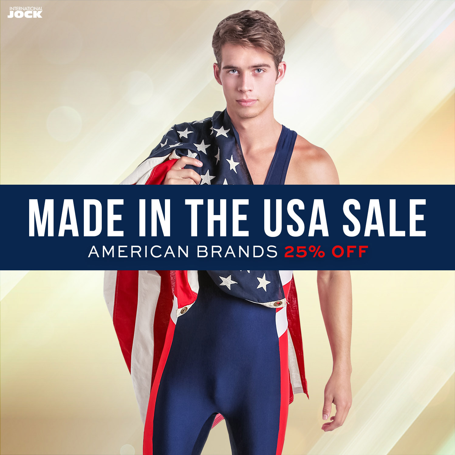 """Made in the USA"""" Sale at International Jock Supports American Brands"""