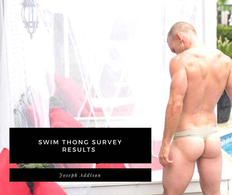 Swim Thong Survey Results