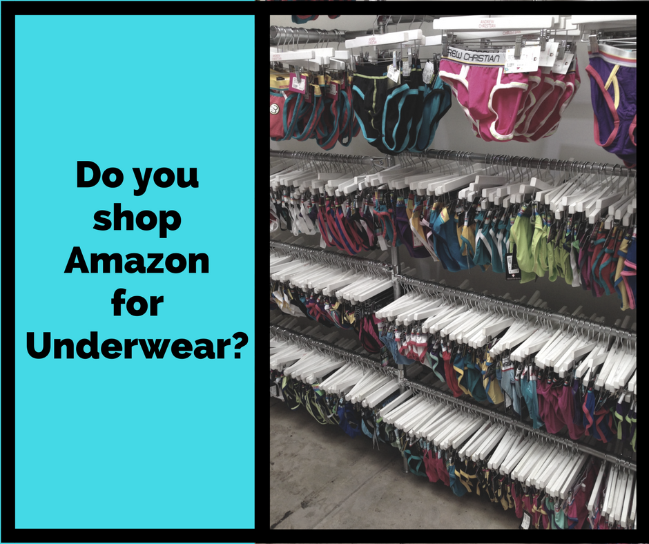UNB Poll - Do you buy undies on Amazon