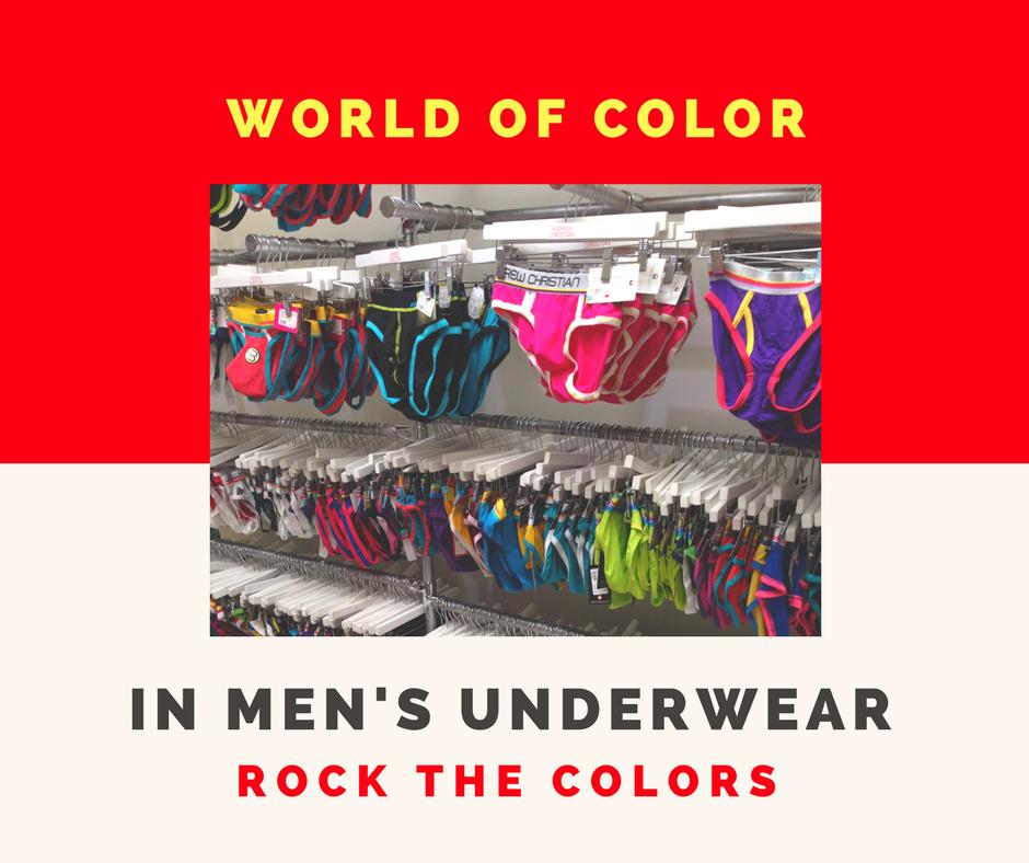 Technicolor World of Men's Underwear