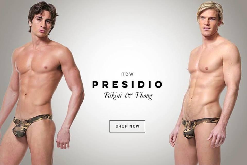 Rock the Camo with N2N Bodywear new PRESIDIO