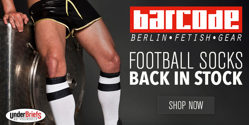 Get your Barcode Berlin at Under Briefs