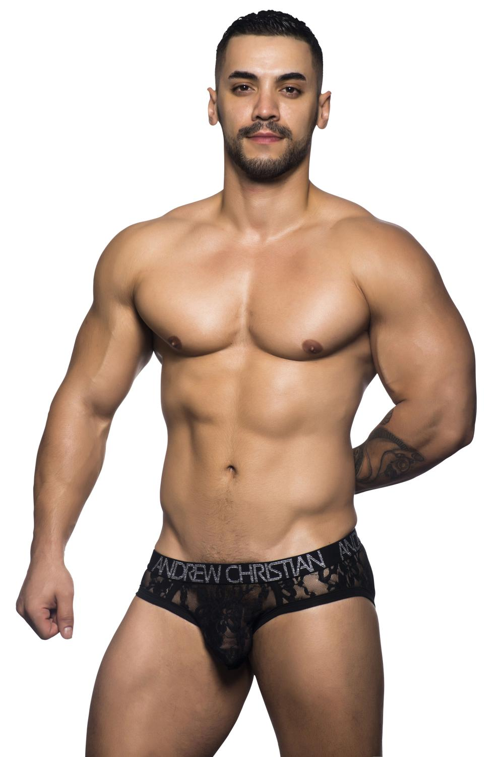 Review Andrew Christian Lace Brief