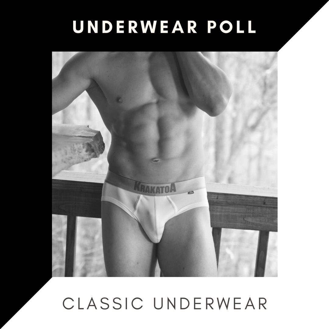 Poll - Should Guys own Classic Underwear