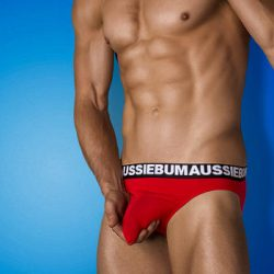 Just shake it with the aussieBum Wobbl Brief Plus new Cottonsoft Colors