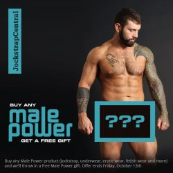 Get Free Male Power Underwear at Jockstrap Central plus more