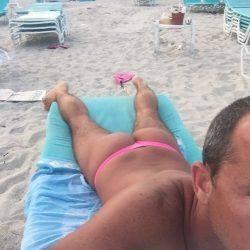 Thonging on Miami Beach by UNB Ryan