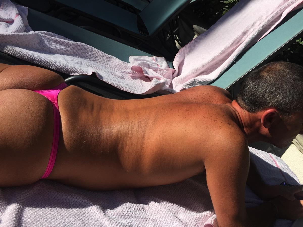 Thonging in Las Vegas with Ryan