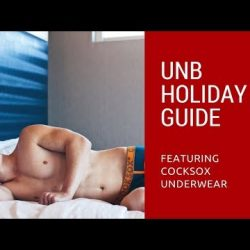 UNB Holiday Guide 2017 BTS featuring Cocksox