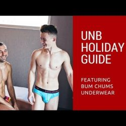 UNB Holiday Guide 2017 BTS featuring Bum Chums
