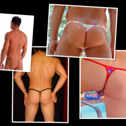 First of all…IT'S JUST A THONG!!!
