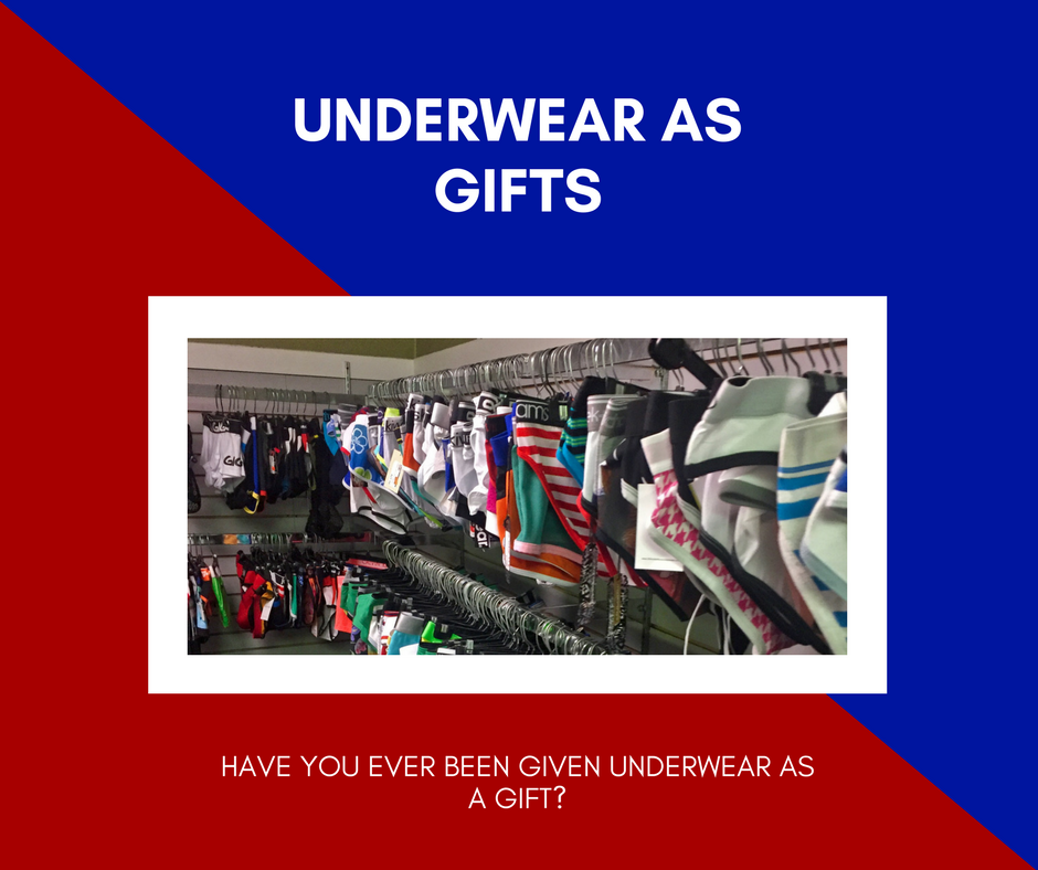 Polll - Have you ever given undies as a present?