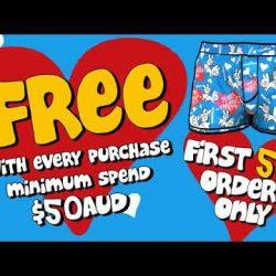 New aussieBum Valentines Day Boxer & Promo