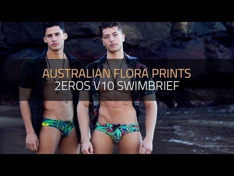 V10 Australiana Swimwear Prints