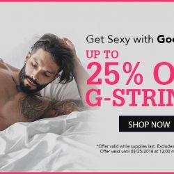 Love G-Strings? Get 25% off Good Devil