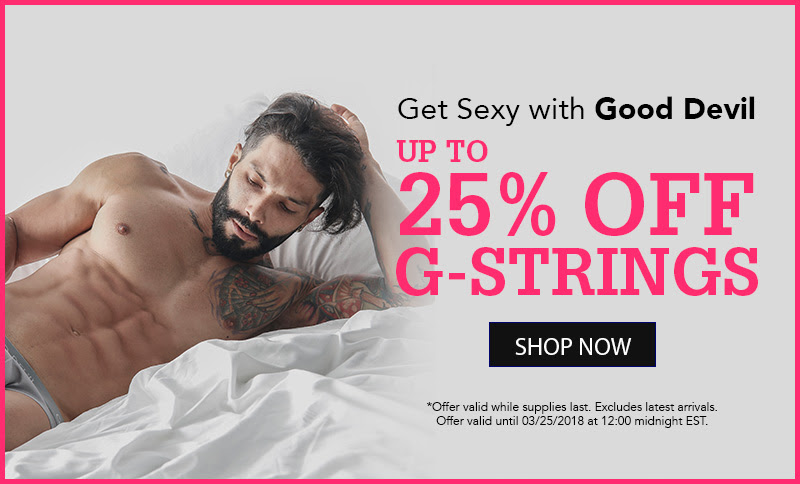 Love G-Strings? Get 25% off Good Devil