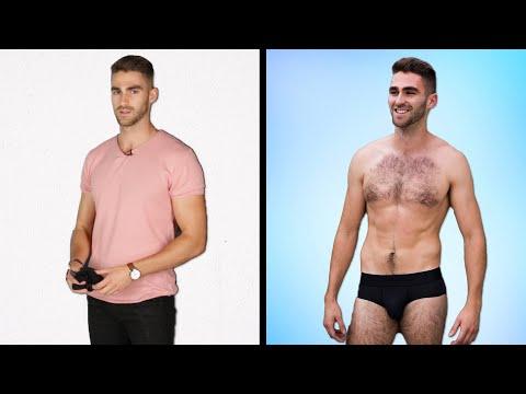Buzz Feed - Men Get Styled In Their Perfect Underwear