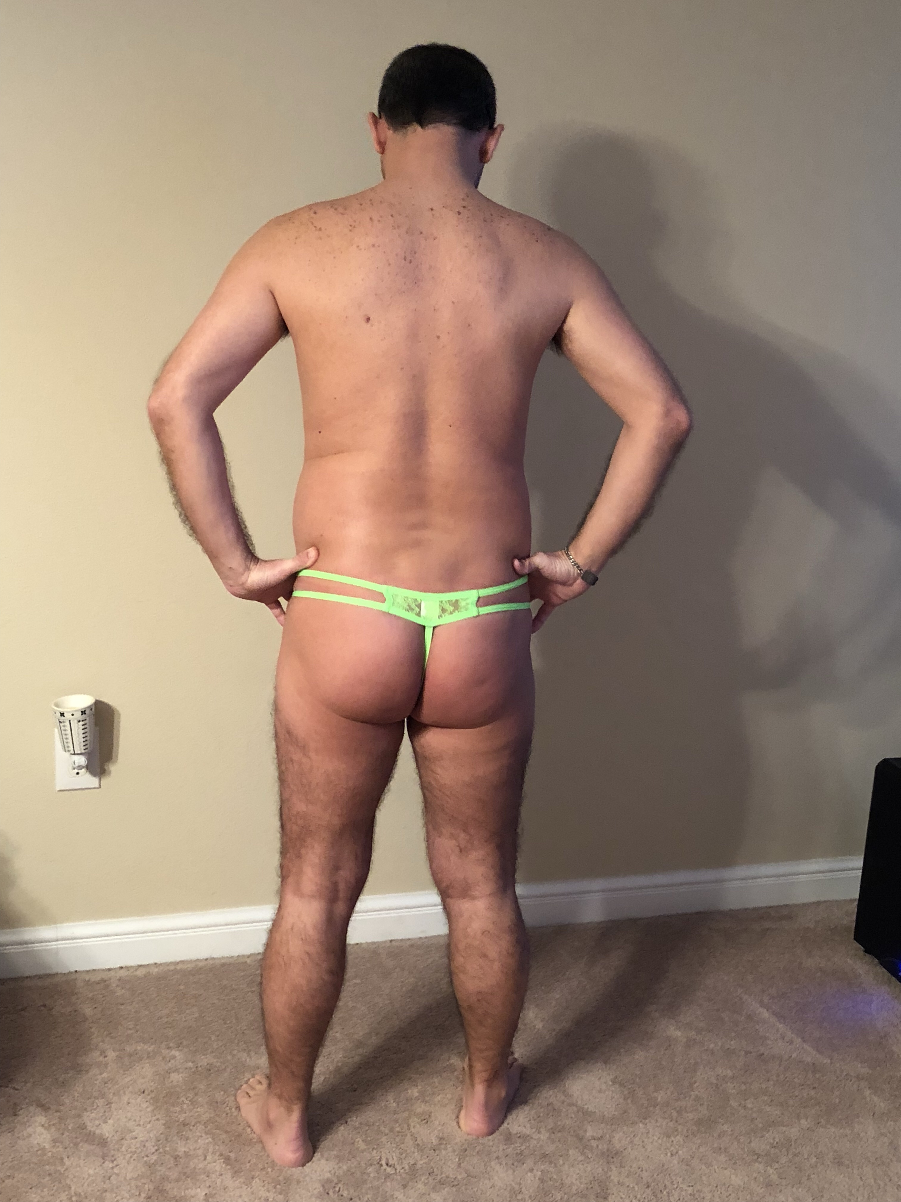 Review - Petit-Q Lace Thong Ornex Green