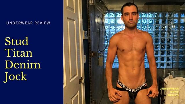 Video Underwear Review - Stud Titan Denim JOck