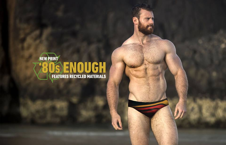 Swimwear Sunday - Beefy Boy Edition - Slugger 80s Enough