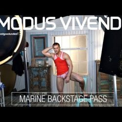 Behind the scenes of the Modus Vivendi Marine Men's Underwear Shoot