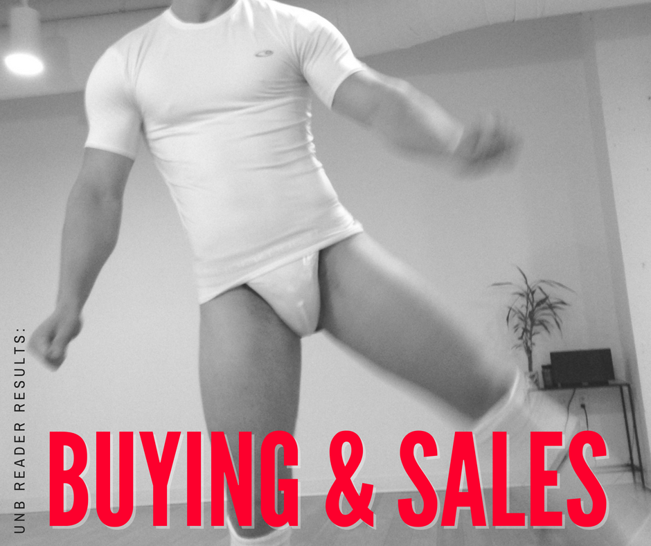 Reader survey results - Buying and Sales