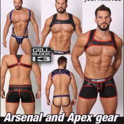 Cellblock 13 Arsenal and Apex Jocks and Gear with Jock Armour