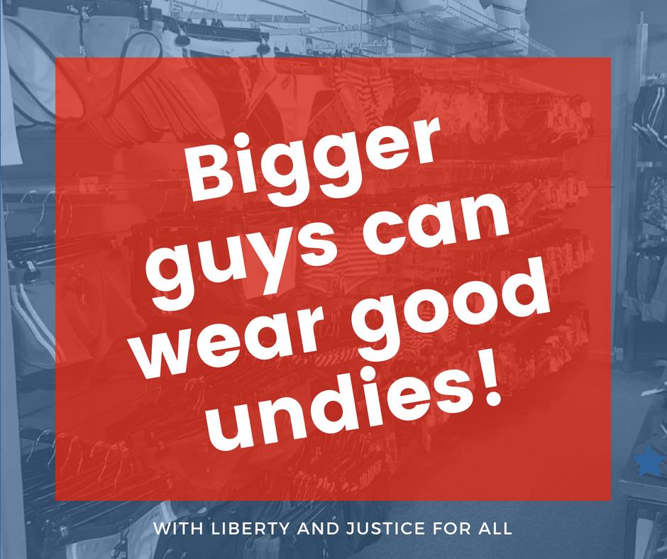 You're a Big Guy, should you wear designer underwear?