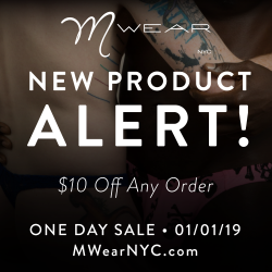Celebrate the new year with MWear