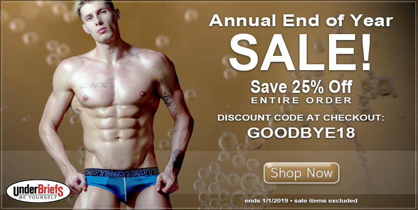 End of the Year Sale at UnderBriefs