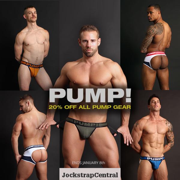 Huge PUMP! Sale & Free PUMP! 2019 Calendar Giveaway at Jockstrap Central