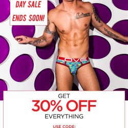 Save 30% off at Andrew Christian