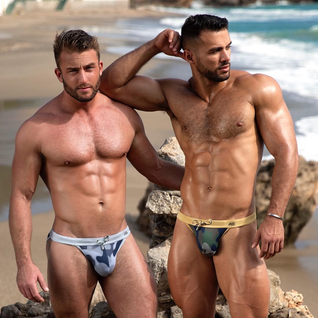 Go Camo with New Addicted Swimwear