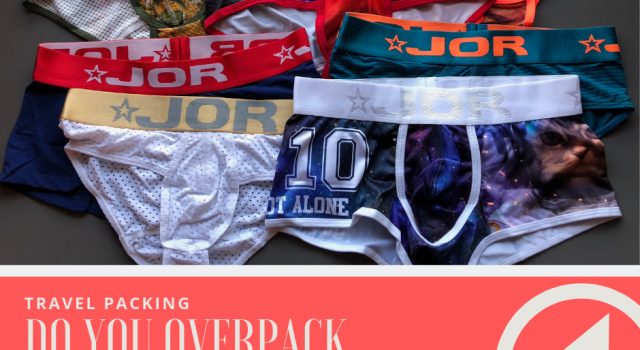 Do you over pack Underwear when going on a trip?