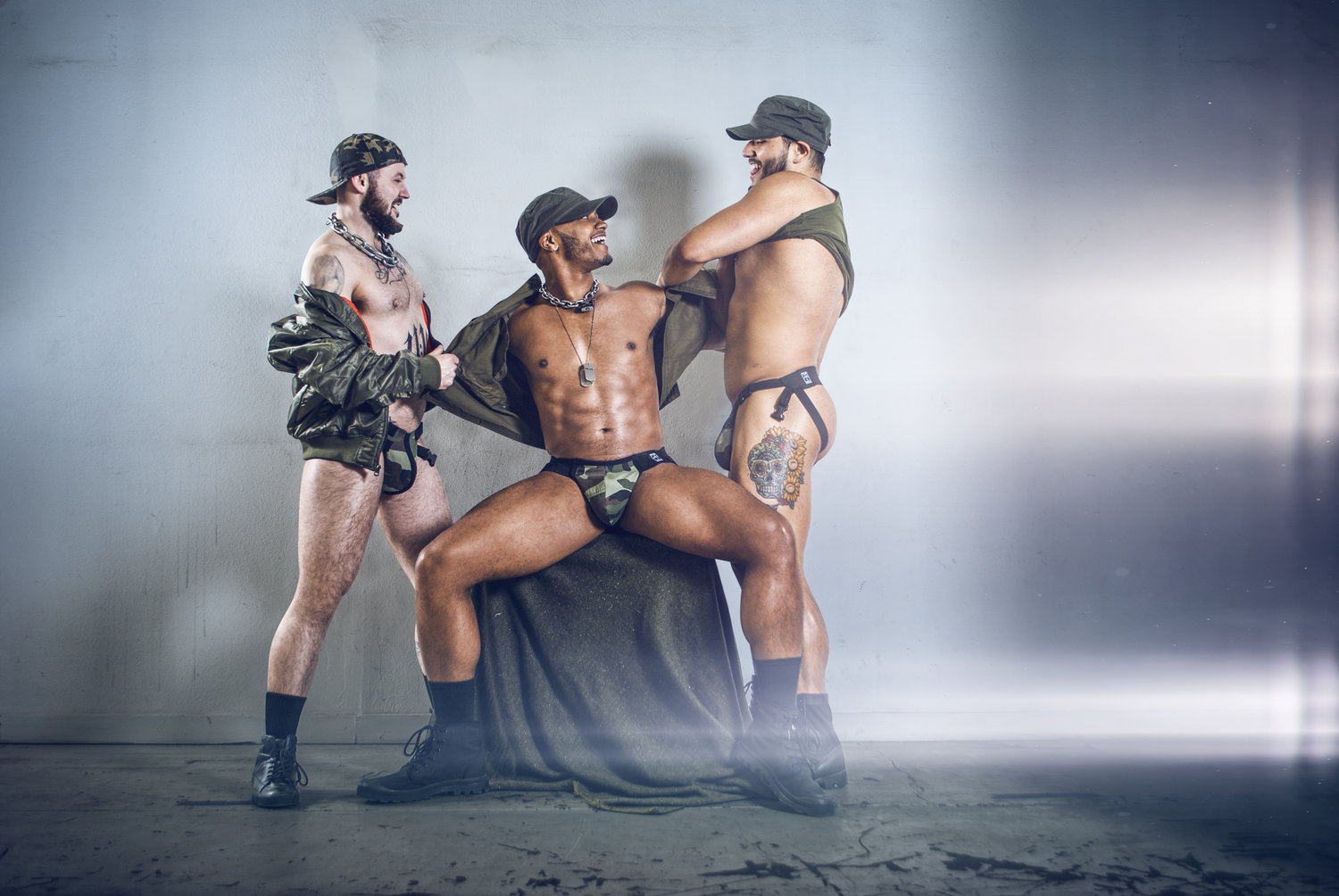 Top Jock 4 Men new Military Inspired Collection