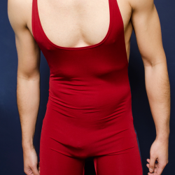 4 Hunks Gym Muscle Singlet