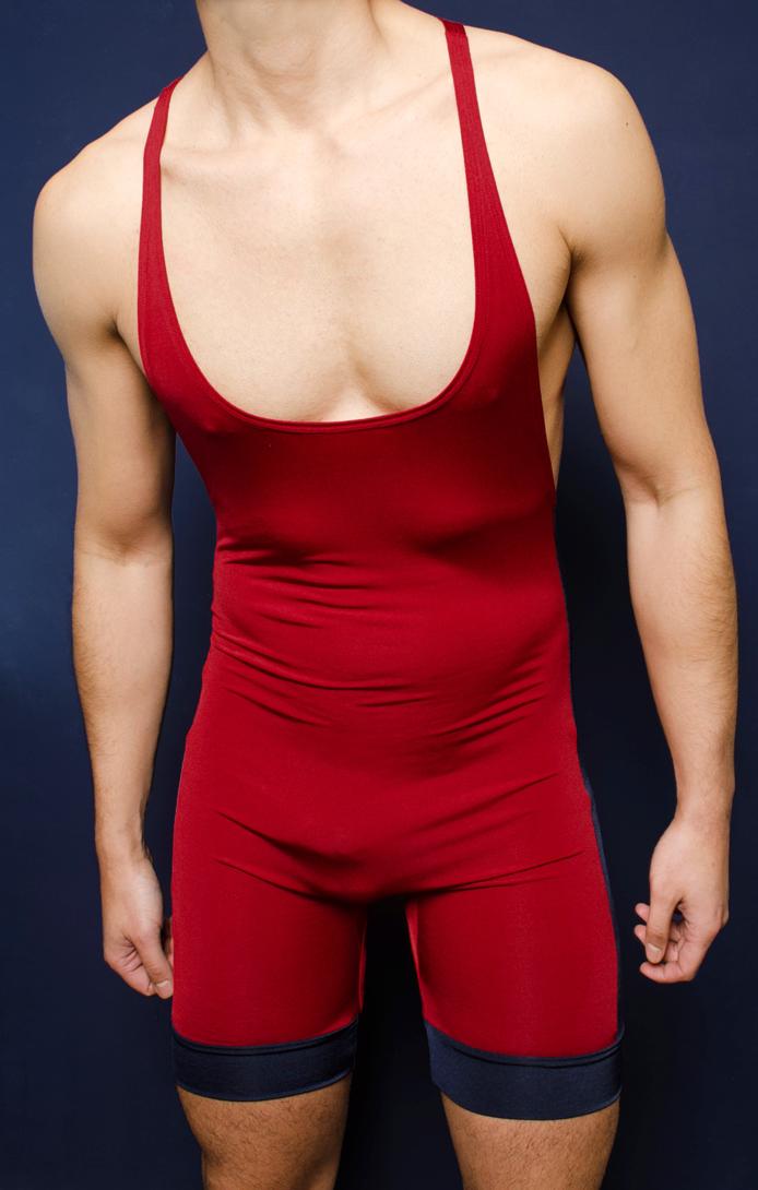 4 Hunks Gym Muscle Singlet